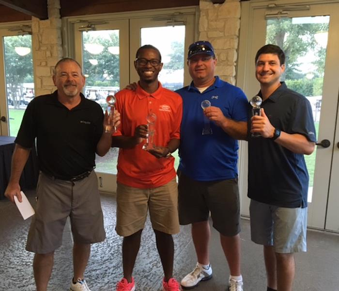 2016 Annual SERVPRO Golf Tournament Champions