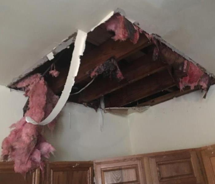 Pipe Leak in Attic!