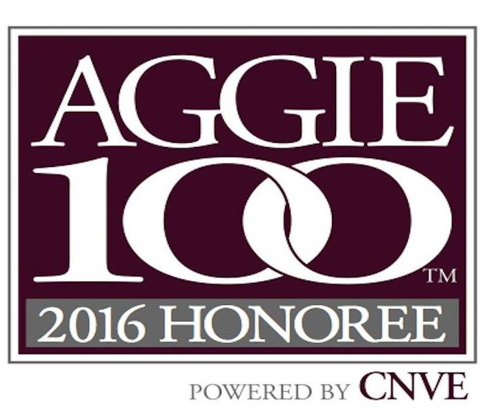 2016 Aggie 100 Honoree