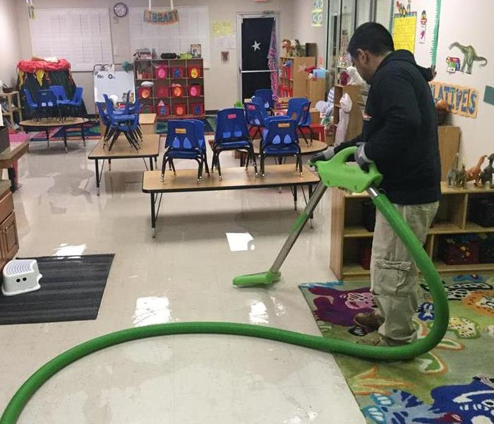 Water Damage at a Pre-School
