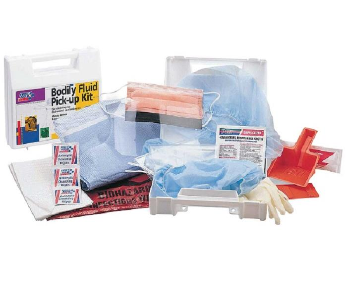 Biohazard Spill Kit Equipment