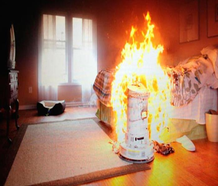 Fire Damage Safety Tips When Using Heating Equipment